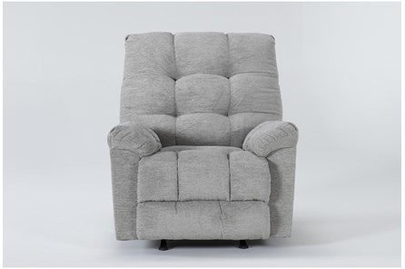Layden Light Grey Rocker Recliner - Main
