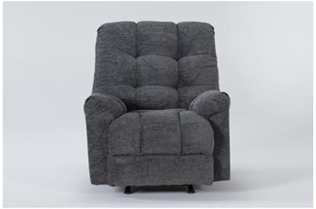 Layden Grey Rocker Recliner