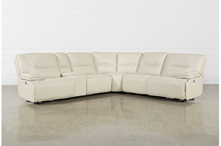 Marcus Oyster 6 Piece Sectional WithPower Headrest And Usb - Main