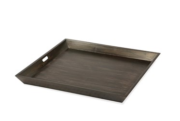 Deep Charcoal Large Tray