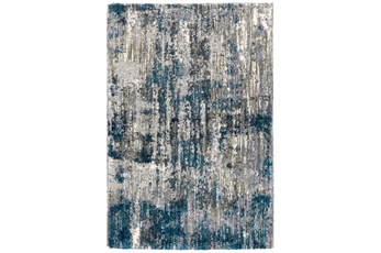 63X91 Rug-Asher Distressed Shag Grey
