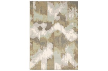 46X65 Rug-Carlton Contemporary Abstract Ivory