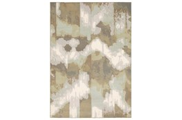 79X114 Rug-Carlton Contemporary Abstract Ivory