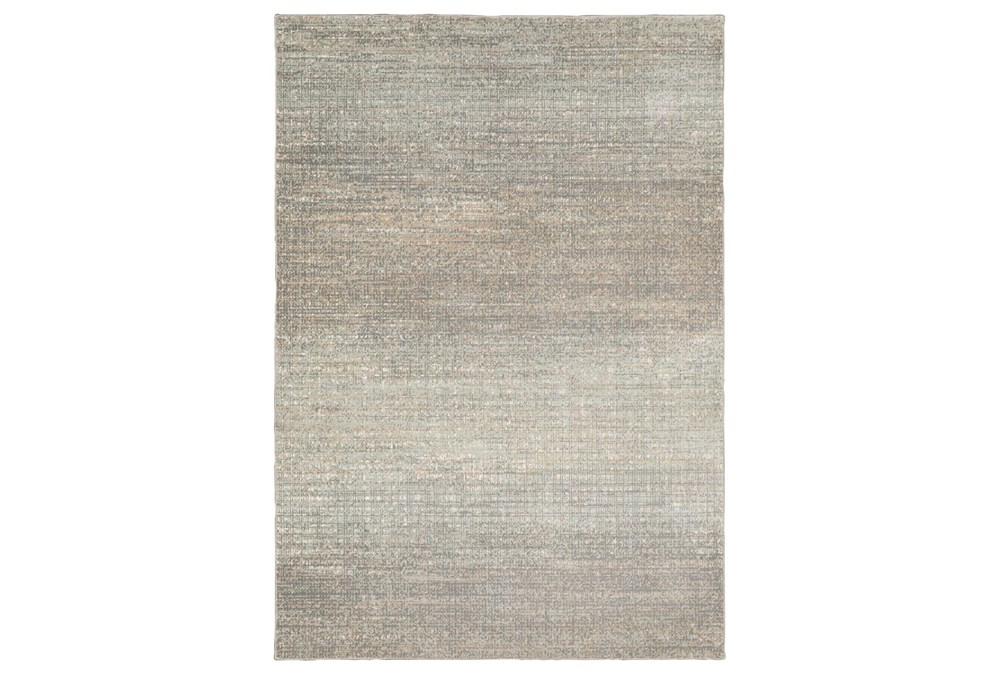 "6'6""x9'5"" Rug-Carlton Abstract Distressed Grey"