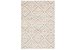 "5'3""x7'6"" Rug-Carlton Geometric Distressed Ivory"