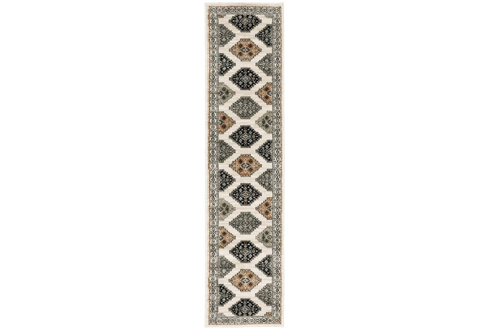 22X91 Runner Rug-Greyson Southwest Tribal Ivory