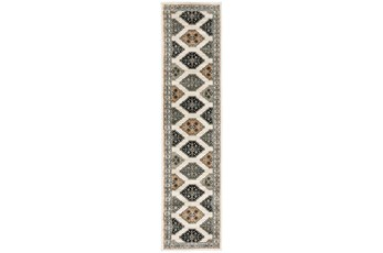 22X91 Runner Rug-Greyson Southwest Tribal Ivory