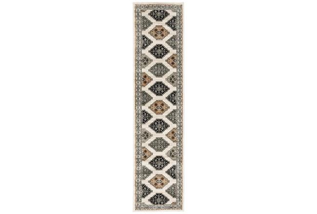 22X91 Runner Rug-Greyson Southwest Tribal Ivory - 360
