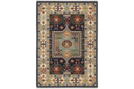 31X146 Runner Rug-Landres Oriental Medallion Red - Main