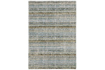 """1'9""""x3'3"""" Rug-Axel Abstract Stripe Blue"""