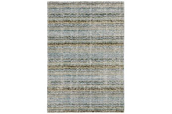 39X67 Rug-Axel Abstract Stripe Blue