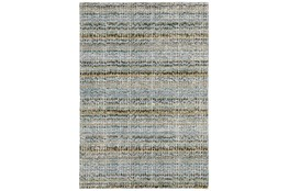 94X135 Rug-Axel Abstract Stripe Blue