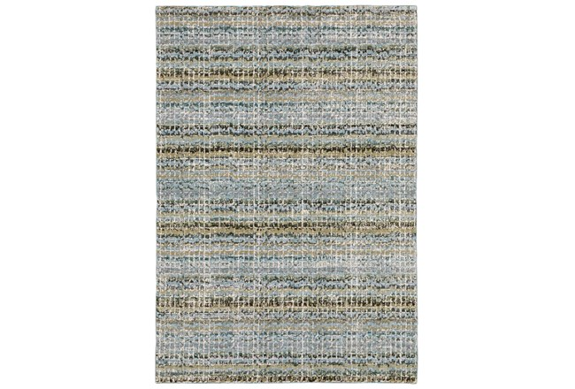 120X157 Rug-Axel Abstract Stripe Blue - 360