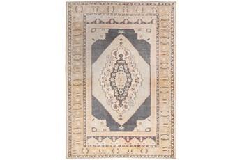 51X75 Rug-Scarlett Oriental Persian Grey
