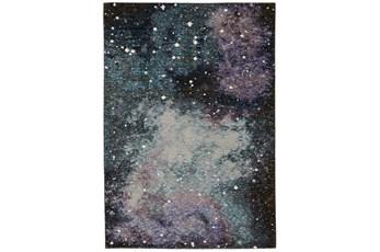 "2'5""x12' Runner Rug-Easton Galaxy Abstract Midnight"