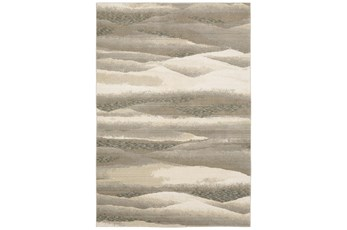 79X118 Rug-Easton Abstract Plaines Beige