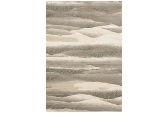 "2'5""x12' Runner Rug-Easton Abstract Plaines Beige"