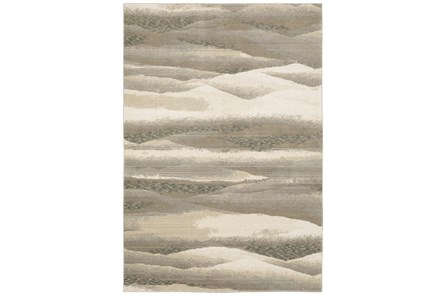 30X144 Runner Rug-Easton Abstract Plaines Beige - Main