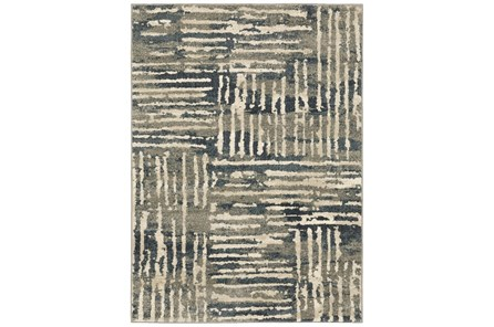 27X91 Runner Rug-Capri Abstract Stripes Beige - Main