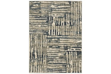 "3'8""x5'4"" Rug-Capri Abstract Stripes Beige"