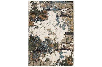 120X156 Rug-Easton Abstract Space Blue