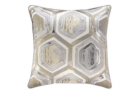 Accent Pillow-Hexagon Foil Multi 20X20 - Main