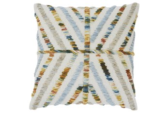 Accent Pillow-Hand Woven Yarn Multi 20X20