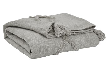 Accent Throw-Tone On Tone Gray