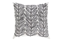 Accent Pillow-Leaf With Cord Accent Multi 20X20