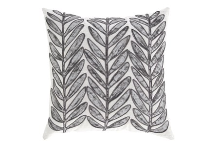 Accent Pillow-Leaf With Cord Accent Multi 20X20 - Main