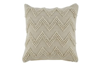 Accent Pillow-Chevron Cream 20X20