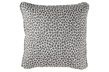 Accent Pillow-Cheetah Gray 20X20