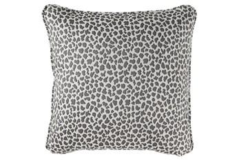 Accent Pillow-Cheetah Gray 20X20