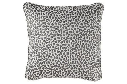 Accent Pillow-Cheetah Gray 20X20 - Main