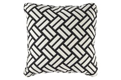 Accent Pillow-Geometric Trend Black/White 20X20