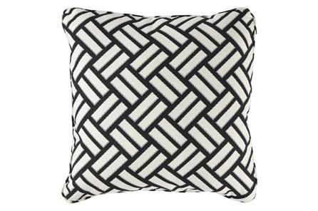 Accent Pillow-Geometric Trend Black/White 20X20 - Main