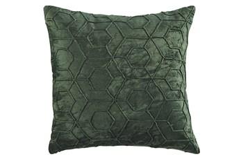 Accent Pillow-Hexagon Emerald 20X20