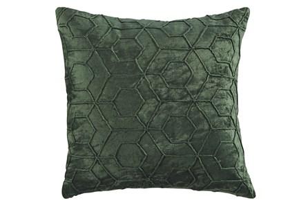 Accent Pillow-Hexagon Emerald 20X20 - Main