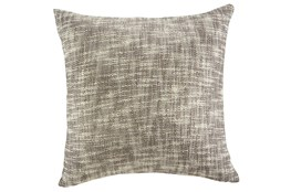 Accent Pillow-Slub Texture Natural/Taupe With Gold 20X20