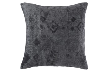 Accent Pillow-Ikat Slate Blue 20X20