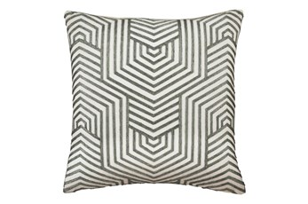 Accent Pillow-Aari Geometric Green 20X20