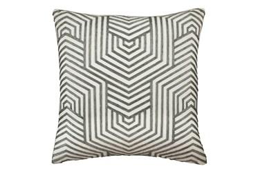 Accent Pillow-Aari Geometric Green 20X20