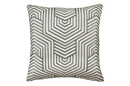 Accent Pillow-Aari Geometric Green 20X20 - Main