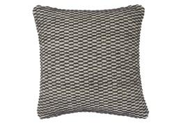 Accent Pillow-Woven + Gray Thread Sewn Plum 20X20