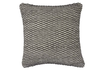 Accent Pillow-Woven + Gray Thread Sewn Plum 20X20