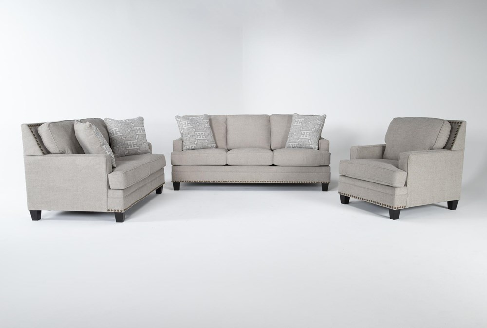Amberly 3 Piece Living Room Set