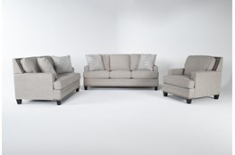 Amberly 3 Piece Living Room Set