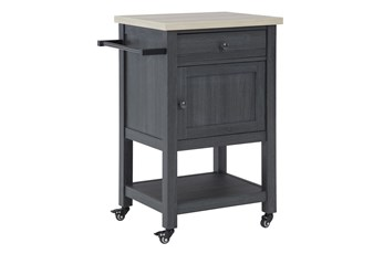 Badger Black Bar Cart