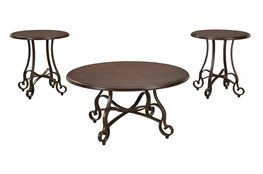 Shawn Brown 3 Pc Occasional Table Set