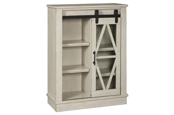 Brownfield White Accent Cabinet